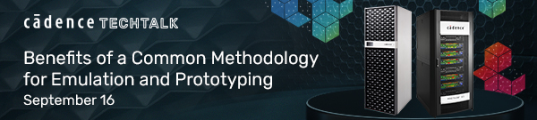 Benefits of a common methodology for emulation and prototyping