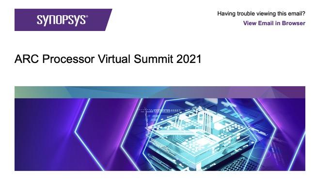 ARC Processor Virtual Summit 2021
