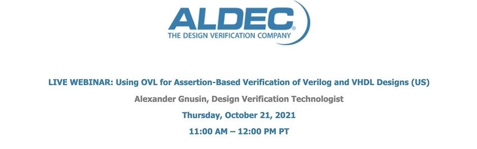 Using OVL for Assertion-based Verification of Verilog and VHDL Designs