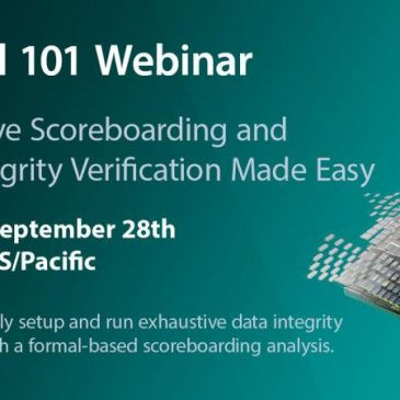Formal 101 – Exhaustive Scoreboarding and Data Integrity Verification Made Easy