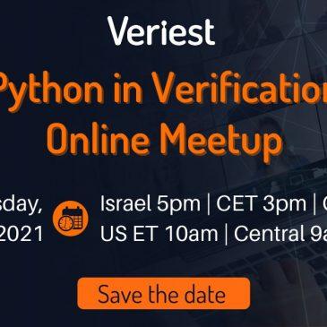 Python in Verification Online Meetup